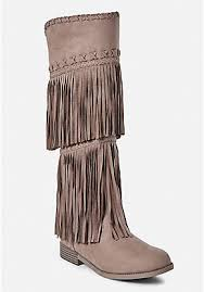 womens size 12 fringe boots boots combat ankle fringe cowboy boots justice