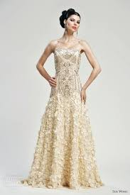gold wedding dresses gold wedding dress ostinter info