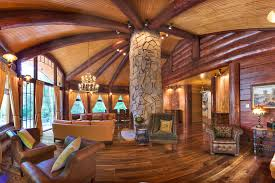 log homes interiors luxury log cabin homes wsj mansion wsj