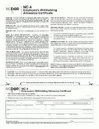 south carolina tax tables 2016 nc nc 4 certificate w 4 home