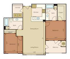 2 bedroom plan 56north phoenix apartment floor plans u0026 availability