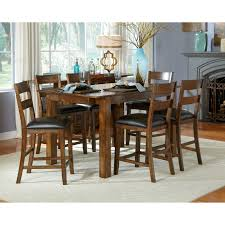 a america mariposa gathering counter height dining table rustic