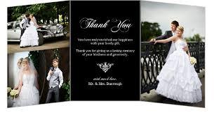 wedding thank you postcards black floral monogram wedding thank you card wedding thank you cards