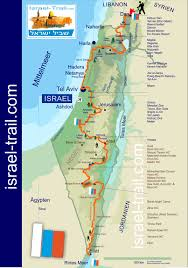 Map Of Israel In Jesus Time Discover Israel On The Israel National Trail U2022 Unfinished Tales