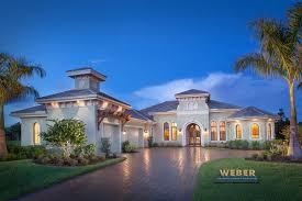 Single Story Home Modern Home Plans Florida One Story Mediterranean House Floo Hahnow