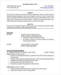 kindergarten teacher resume sample preschool teacher resume