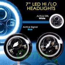 jeep wrangler blue headlights get cheap jeep wrangler light blue aliexpress com