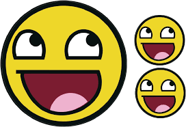 Awesome Meme Face - awesome happy smiley face decal 4chan b meme jdm ebay