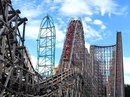 Six Flags Jackson The 15 Most Thrilling Roller Coasters In America Business Insider