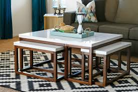 How To Build End Tables by Ana White Three Way Nesting Coffee Tables Diy Projects