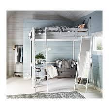 STORÅ Loft Bed Frame White Stain X Cm IKEA - Ikea double bunk bed