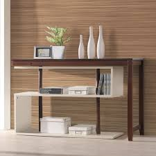 Student Writing Desk by International Caravan Virginia Accent Indoor Shelf With Fold Out