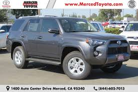 toyota california new 2018 toyota vehicles in stock at merced toyota