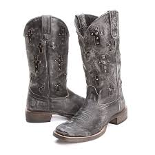 womens size 12 black cowboy boots square toe womens cowboy boots pfi