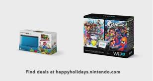 nintendo wii u black friday teases holiday deals for wii u and 3ds