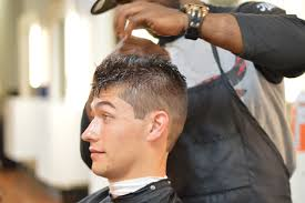 barber shop haircuts 10 comb over fade haircut with line