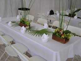 pinterest table layout table layout at luau reception luau party idea pinterest luau