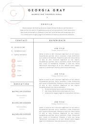 Fashion Industry Resume Fashion Resume Templates Resume Cv Template Professional