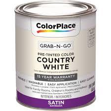 colorplace cp country white flat interior paint qt walmart com