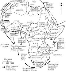 Scramble For Africa Map by The Great War And The Butcher U0027s Bill In Africa Africa Research