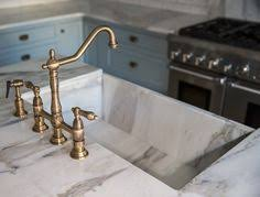kingston brass kitchen faucet traditional antique brass kitchen faucet with dual levers with