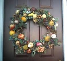 door wreaths thriftyfun