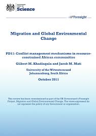 conflict management mechanisms in resource constrained african