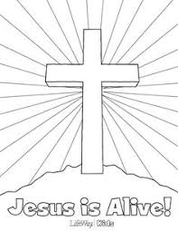 brilliant ideas easter cross coloring pages keyid free