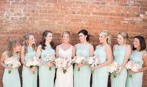 davids bridesmaid dresses mint david s bridal bridesmaid dresses with lace illusion neckline
