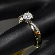 real diamond engagement rings engagement ring 14k gold 0 26ct yellow gold real diamond