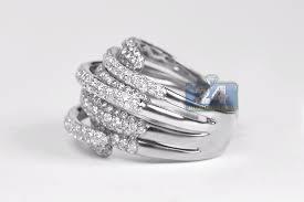 highway wedding band womens diamond highway wide ring 14k white gold 3 22 ct