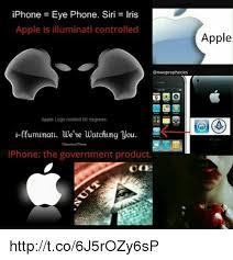 iris illuminati iphone eye phone siri iris apple is illuminati controlled apple