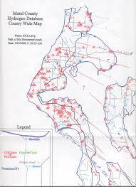 Washington State Printable Map by Whidbey Island Washington Geo Hikes