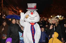 frosty snowman special appearance armonk hometown