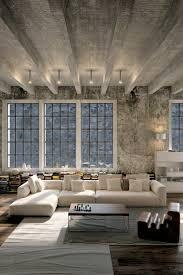 canapé style industriel déco salon meuble style industriel pas cher pour le salon style