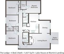 narrow lot house plan bedroom lakefront house plans homes zone lake floor wide lot