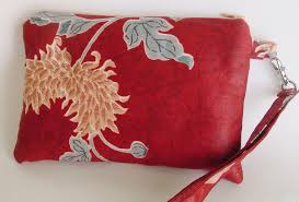 wristlet clutch kindle nook kobo oriental design