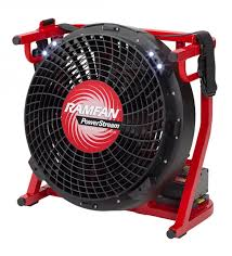 battery powered extractor fan ramfan ex50li el5500 battery operated positive pressure ventilator ppv