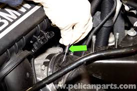 bmw e90 knock sensor replacement e91 e92 e93 pelican parts