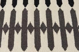 Flat Rug Olivia Flat Weave Rug Gray Aelfie