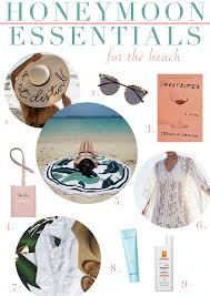 honeymoon essentials gifts 9 essentials to pack for your honeymoon