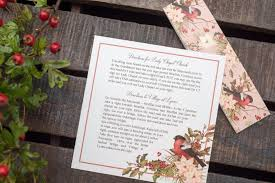 wedding invitations newcastle printed wedding invitations robin day invitation christmas
