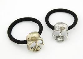 elastic hairband skull rope elastic hair band buy 1 get 2 free skull