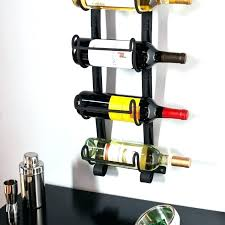 wine glass cabinet wall mount wine racks brushed nickel wine rack medium size of storage