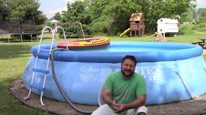 Intex Inflatable Swimming Pool 1 Yr Review Of Intex 16 U0027 X 42