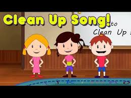 cartoon pictures of cleaning clean up song for children kindergarten and preschool song by