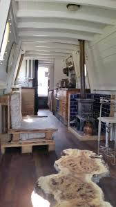interior of a home best 25 narrowboat ideas on canal boat narrowboat