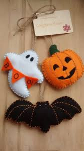 felt halloween decorations at home halloween decorations martha