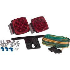 blazer led trailer lights blazer submersible led trailer light kit model c7423 dot