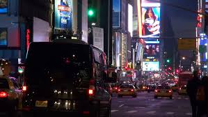 new york ny november 26 downtown traffic going through times